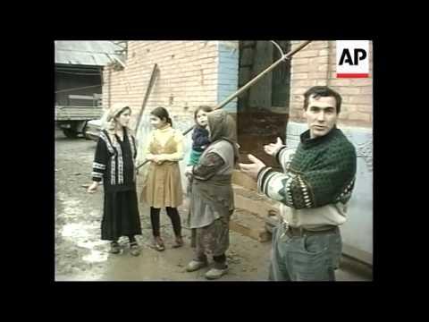 CHECHNYA: RUSSIA/CHECHNYA CONFLICT: VILLAGE