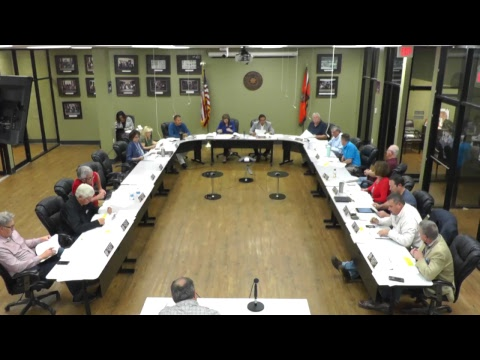Executive & Finance Committee Meeting - 04/26/2018