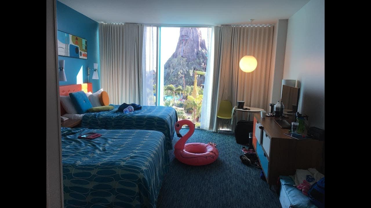 Cabana Bay And Volcano Side Room Youtube