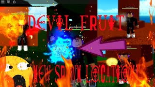 DEVIL FRUIT NEW SPAWN LOCATION | ONE PIECE PIRATES WRATH | ROBLOX