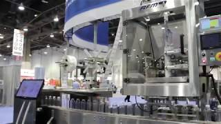 AFM LX150 Shrink Sleeve Applicator PSI PMMI Show Las Vegas