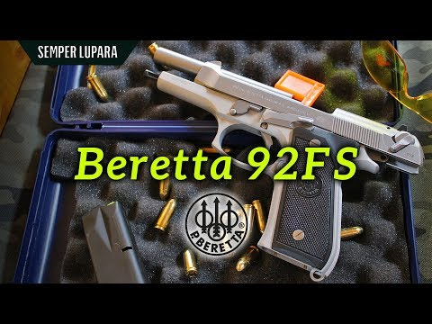 Présentation Beretta 92FS Inox - Смотреть видео бесплатно онлайн