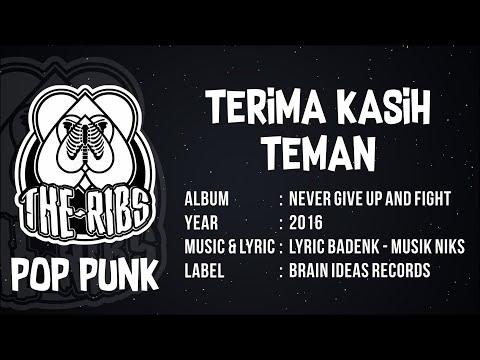 THE RIBS - TERIMA KASIH TEMAN (Official Lyric) POP PUNK