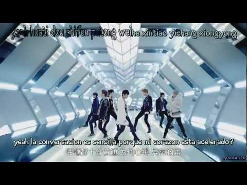 Super Junior-M ~ Break Down [Sub. Español - Pinyin - Karaoke]