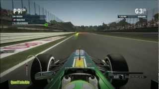 F1 2012 Gameplay ITA Sfida Campionato #1 ... Massa aspettami o ti buco le gomme