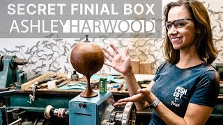 Woodturning A Spherical Box