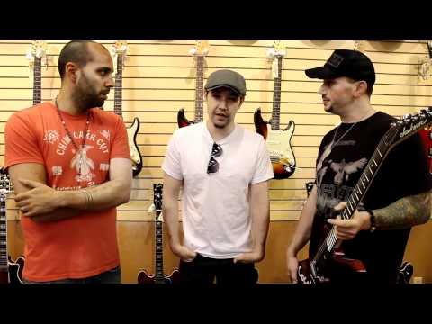 Hoobastank Doug Robb at Norman's Rare Guitars
