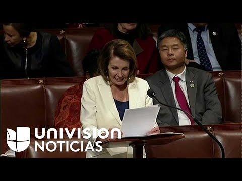 Pelosi pide a Paul Ryan que se comprometa a discutir el futuro de los dreamers