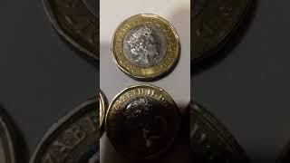 6000£ 1NEW POUND 2017 QUEEN ELIZABETH II WITH THIS  DEFECT COULD BE WORTH £6000