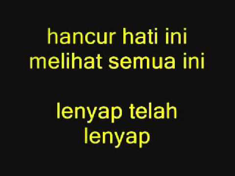 Hilang OST  Cinderella lyrics