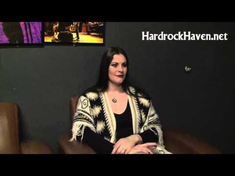 HardrockHaven.net interview with Floor Jansen of Nightwish