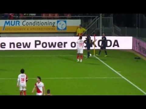 FC Utrecht - PSV 1-5 (15 December 2013), Goal Adam Maher 1-5