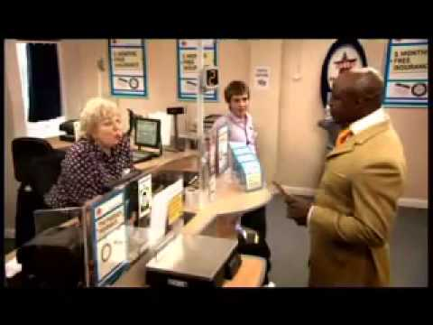 Post Office Advert: 'Car Insurance' feat. Chris Eubank - 'The People's Post Office'