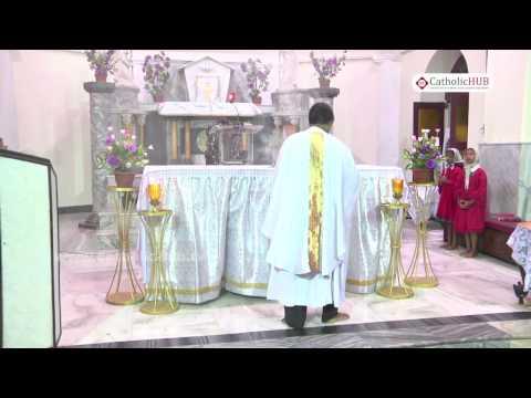 English Mass @ St.Joseph's Cathedral, Gunfoundry, Hyd, Telangana, INDIA. 08-12-16