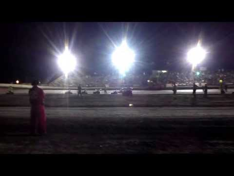 6/15/13 South Texas Speedway Youth Go Kart Feature Race