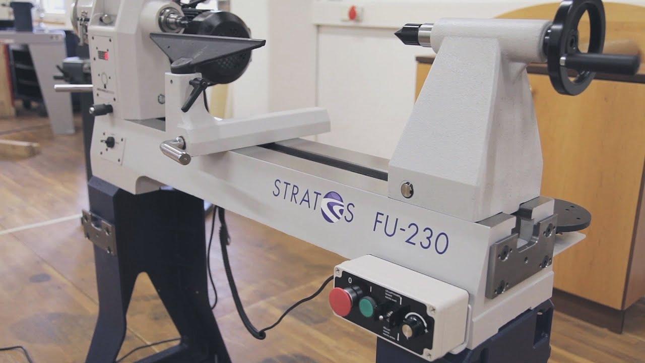 Stratos FU 230 - Die Meisterdrechselbank - YouTube