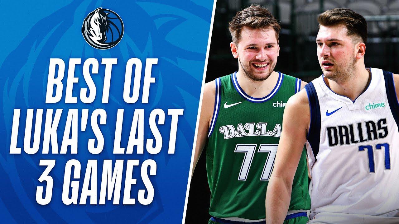 Luka's 118 PTS In The Last 3 Games Sets A New Dallas Mavericks RECORD!
