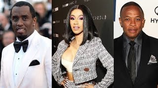 Cardi B Denies a Culture Vulture and Compares herself to Diddy and Dr Dre.