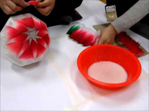 vesak lanterns how to make
