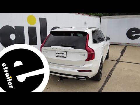 etrailer Best Trailer Wiring Harness on a 2016 Volvo XC90