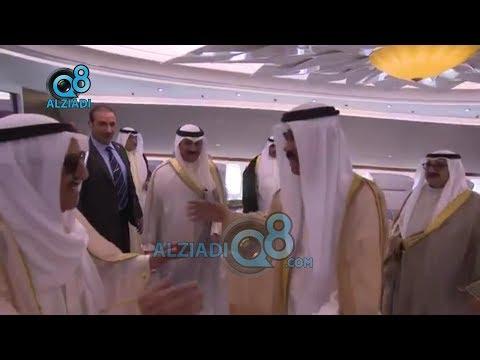 استقبال صاحب السمو الشيخ صباح الأحمد لحظة وصوله أرض الوطن 16-10-2019  - نشر قبل 3 ساعة