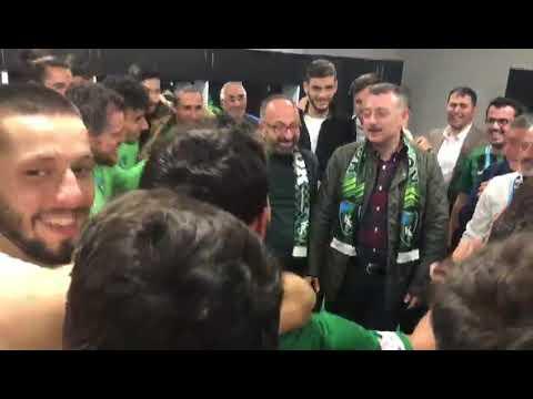 Başkan'dan futbolculara prim desteği   Kocaeli Fikir