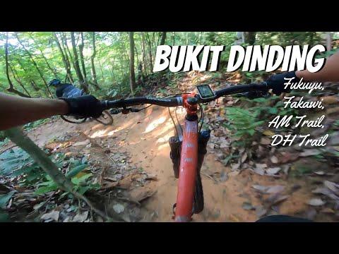 Bukit Dinding - Downhill Mountain Biking Trails | Fukuyu, Fakawi, AM Trail and DH Trail