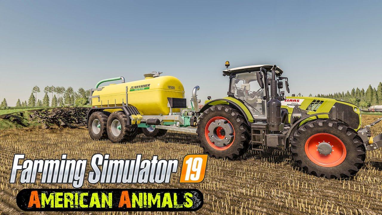 Slurry spreading, land maintenance! ★ Farming Simulator 2019 Timelapse ★ New Woodshire ★ 19