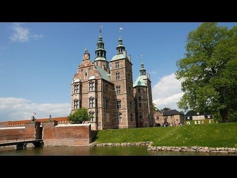 Rosenborg Castle & Gardens Copenhagen Denmark (4K)
