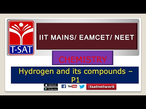CHEMISTRY || Hydrogen and its compounds - P1 || Bhanu Prakash