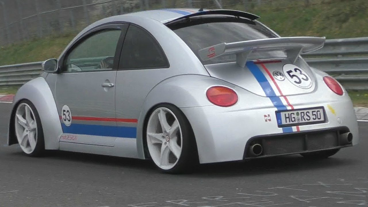 RARE VW Beetle RSi On The Nürburgring Nordschleife!