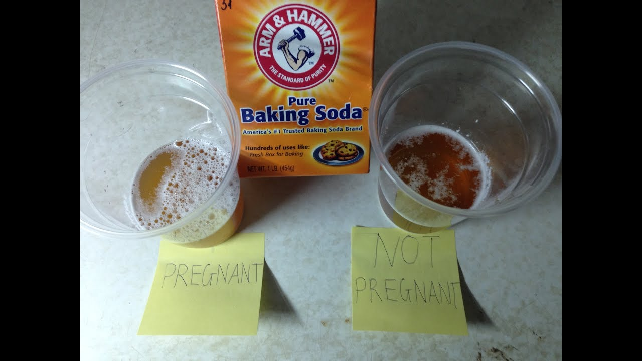 Homemade Pregnancy Test With Baking Soda Accruate Youtube