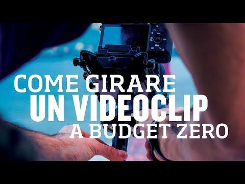 Come girare un videoclip con ZERO BUDGET