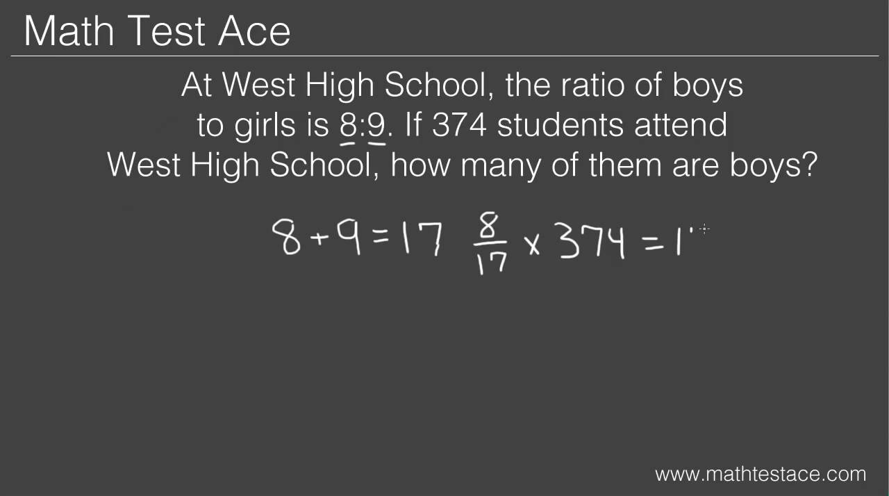 hight resolution of How to Solve Ratio Word Problems - YouTube