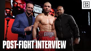 Chris Eubank Jr. Outlines Next Fights In Post-Fight Interview