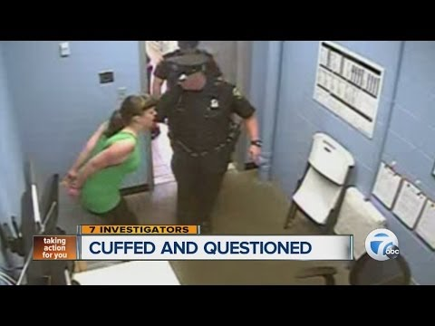 Woman with special needs cuffed and questioned in Wal-Mart