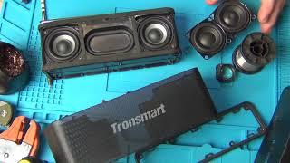 Tronsmart Element Mega - хлам. Замена динамиков. Все отваливается.