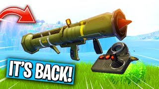 THE GUIDED MISSILE IS BACK IN FORTNITE... (Coming Soon)