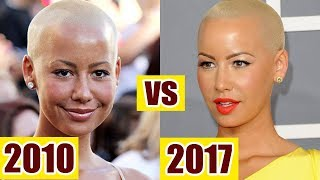 Amber rose - Before and After 2017