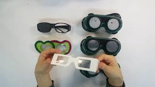 시각장애_교구_저시력 체험 안경