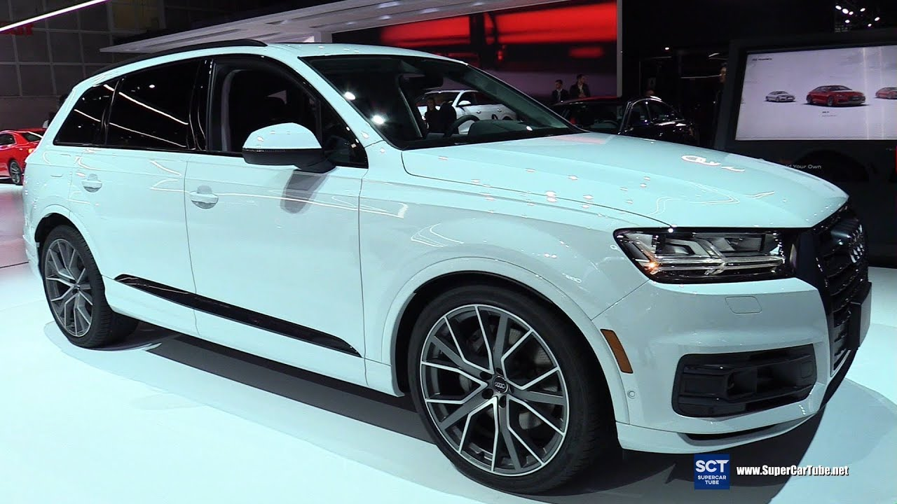2019 Audi Q7 Quattro Exterior And Interior Walkaround 2018 La Auto Show Youtube