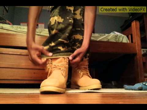 6 Inch Basic Wheat Timberlands On Feet Youtube