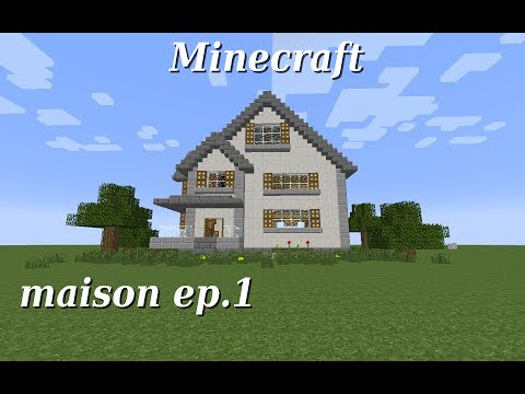 Maison simple tuto minecraft doovi for Belle maison minecraft