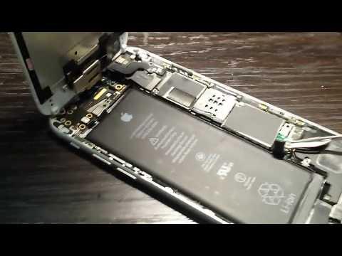 IPhone 6 ошибка 56, замена микросхем NFC