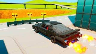 Guardrail against Lego Vehicles   Brick Rigs