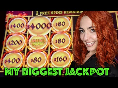 BIGGEST HANDPAY JACKPOT I've EVER WON on DRAGON LINK in Vegas! - 동영상