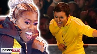 Missy Elliott REUNITES With Alyson Stoner During VMA Vanguard Award Performance