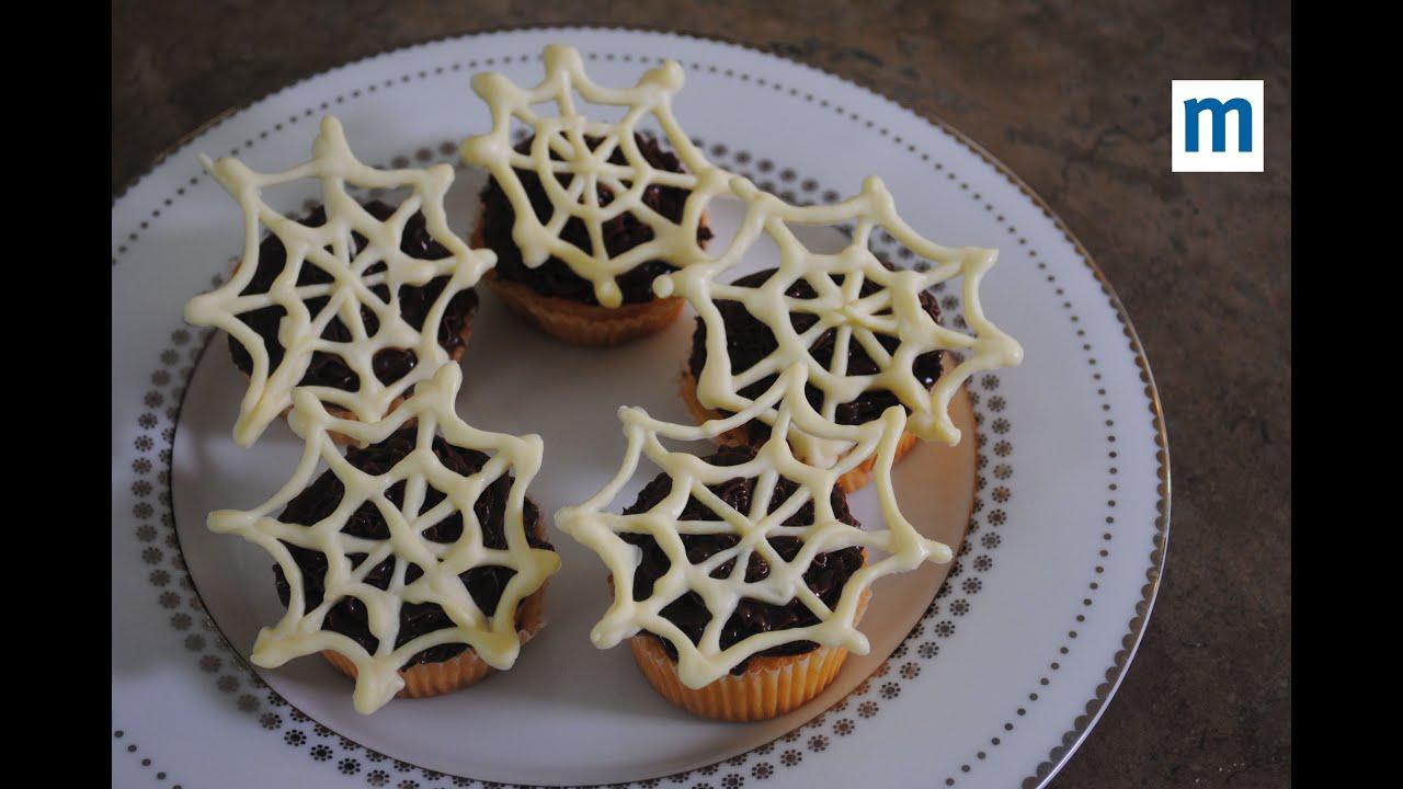 creepy spiderweb cake decorations halloween party food youtube