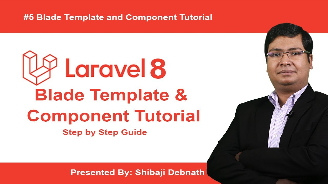 Laravel 8 Blade Template and Component Live Tutorial