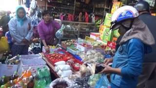 Chợ Hòa Hiệp 30 giáp Tết Đinh Dậu 2017